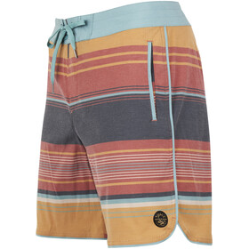 United By Blue Seabed Scallop Short de bain Homme, canyon orange